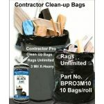 BPRO3M10 Contractor Trash Bags Rags Unlimited Inc
