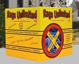 CL-SURG05, Blue Surgical Rags Unlimited Inc