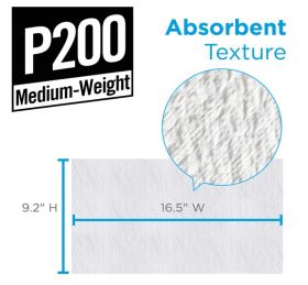PAPW166 Paper Rag Size